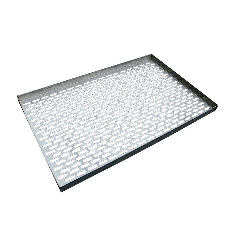 Slot mesh tray
