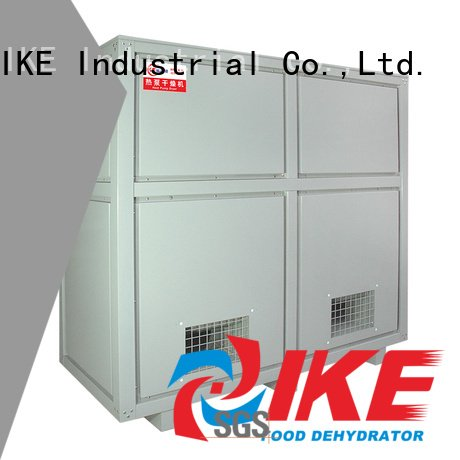 steel temperature IKE dehydrator machine
