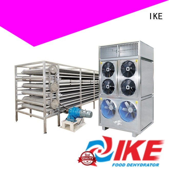 IKE Brand customized conveyor mesh commercial food dryer machine belt