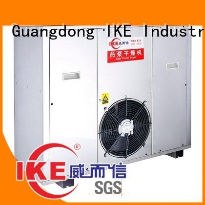 Hot dehydrator machine drying IKE Brand