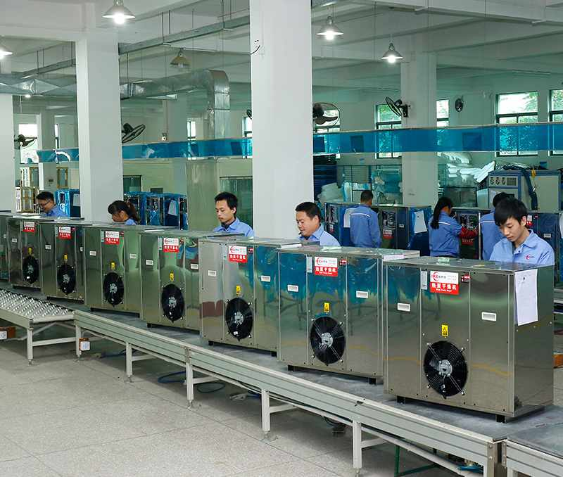 WRH-300 Embedding food dehydrator production line