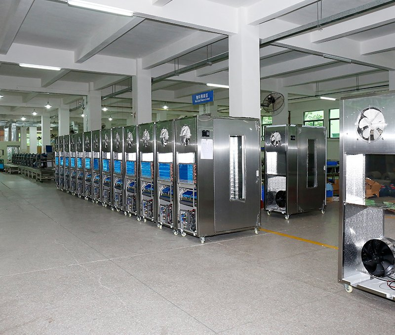 WRH-100 Cabinet-style food dehydrator production line