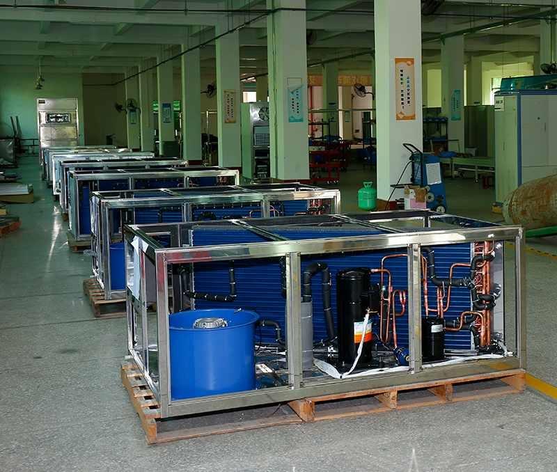Embedding food dehydrator production line