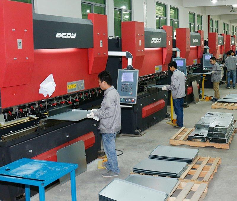 CNC bending workshop