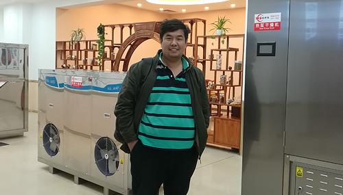 Kazakhstan customer find melon dehydrator