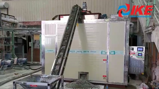 Sludge Drying By Continuous Mesh Belt Drying Machine