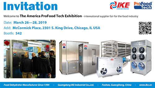 Welcome to The 2019 America Profood Tech exhibition