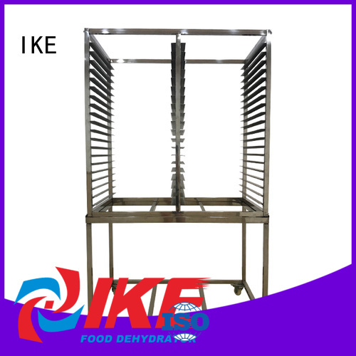 round panel dehydrator trays heat IKE Brand company